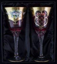 Декоративни чаши за  вино 2 бр.