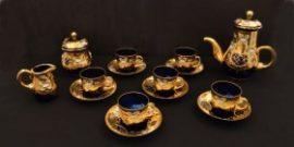 Кристален сервиз за чай 15 части