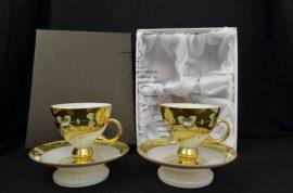 Кристални чаши за чай 2 бр.