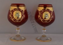 Decorative Measuring Glass for Brandy