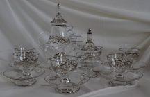 Кристален комплект за чай или кафе