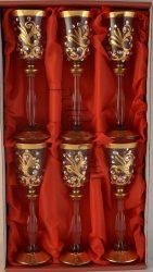 Кристални чаши за ликьор
