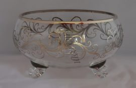 Decorative handmade bowl