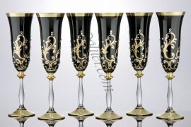 Кристални чаши за шампанско