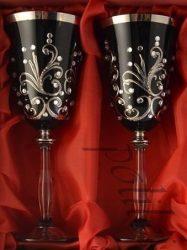 Кристални чаши за вино - 2 бр.