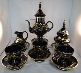 Decorative set for tea or coffee